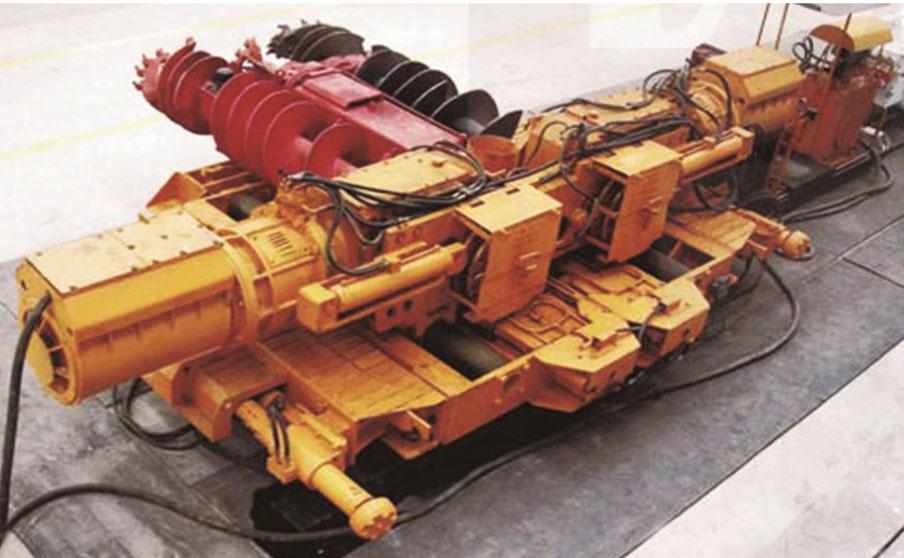 MZ 型钻式采煤机系列